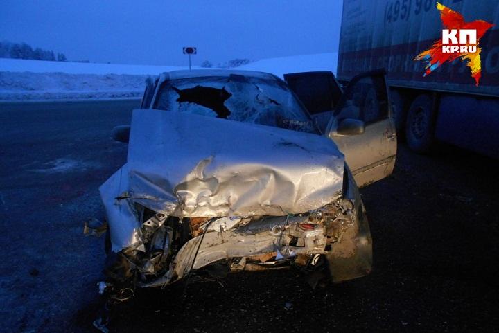 5 человек пострадали вДТП натрассе Воткинск— Чайковский