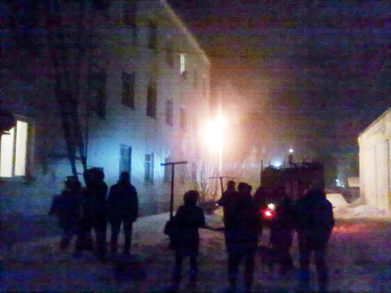 ВоВладимире напожаре погибли двое мужчин