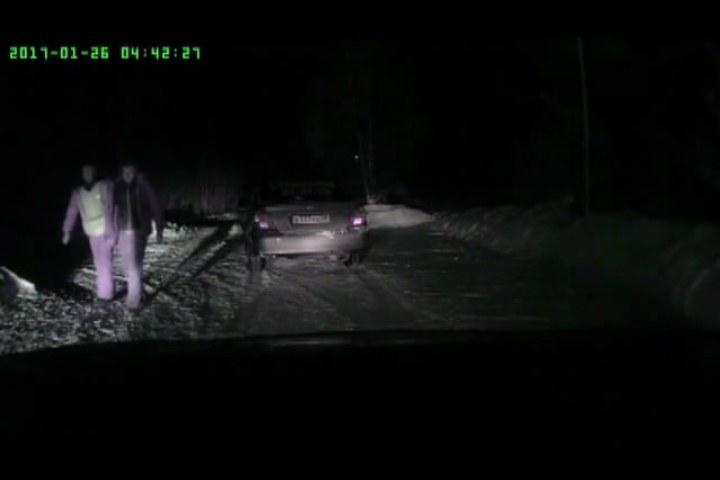 ВИркутске схвачен пытавшийся исчезнуть отполицейских шофёр без прав