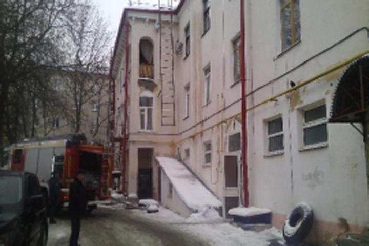 5  человек эвакуировали из-за пожара наулице Горького вБрянске