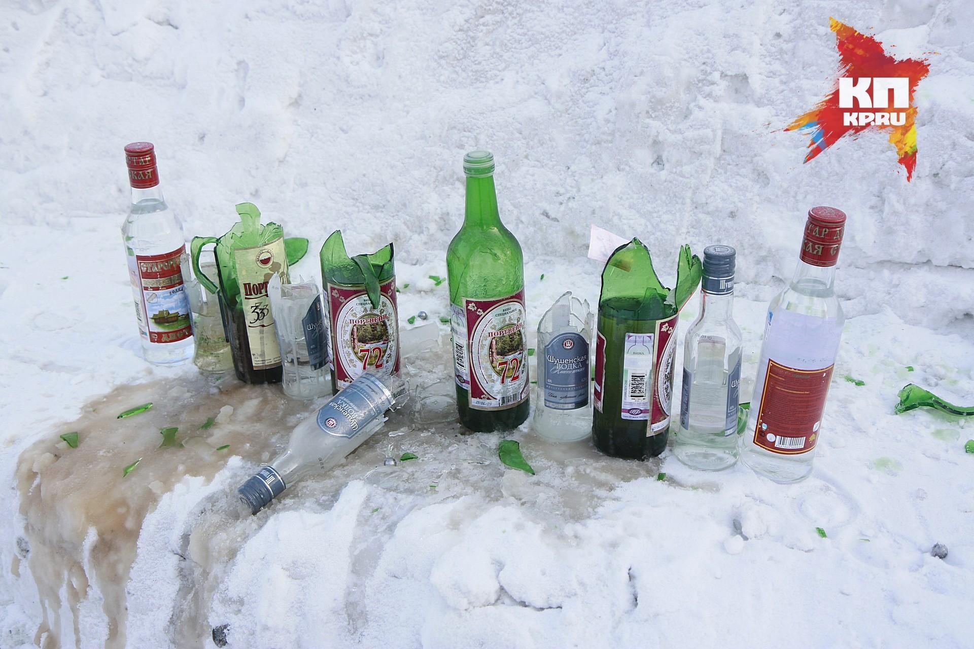 Руководитель краевой милиции предложил запретить торговать спирт попятницам