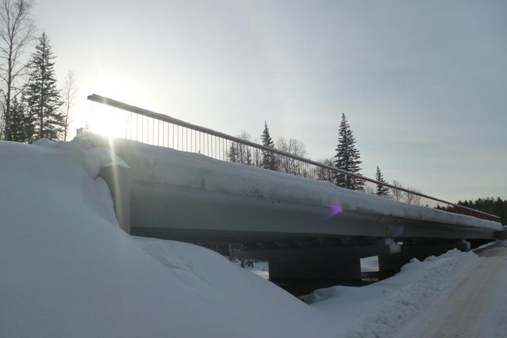 ВЧунском районе остановили строительство моста натрассе Тайшет— Братск
