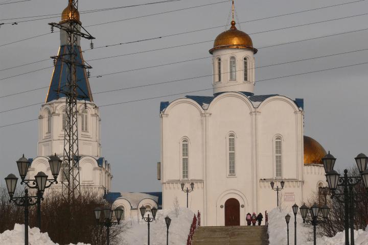 Мурманчанин совершил правонарушение в монастыре «Спас наводах»