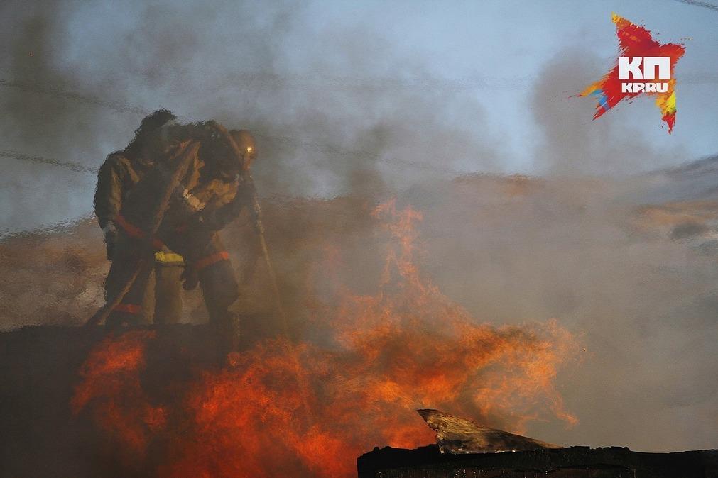 Впожаре вКурагинском районе погибли три человека