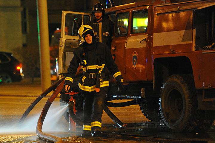 В столице России изшколы искусств эвакуировали неменее 120 детей из-за пожара