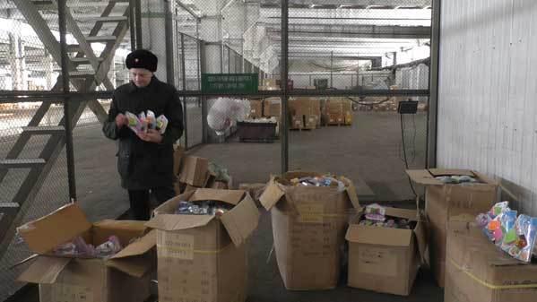 Челябинская таможня непустила 696 контрафактных «рубиков»