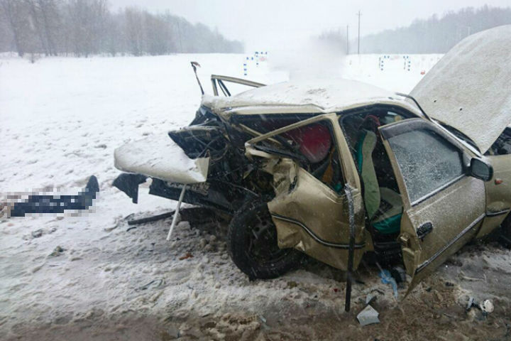 При столкновении с Хюндай i30 умер шофёр Дэу Nexia