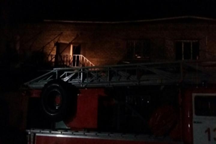 ВКурской области сгорела столярная мастерская