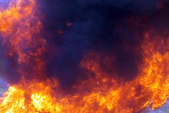 Вгорящей пятиэтажке вТюмени спасли 20 человек