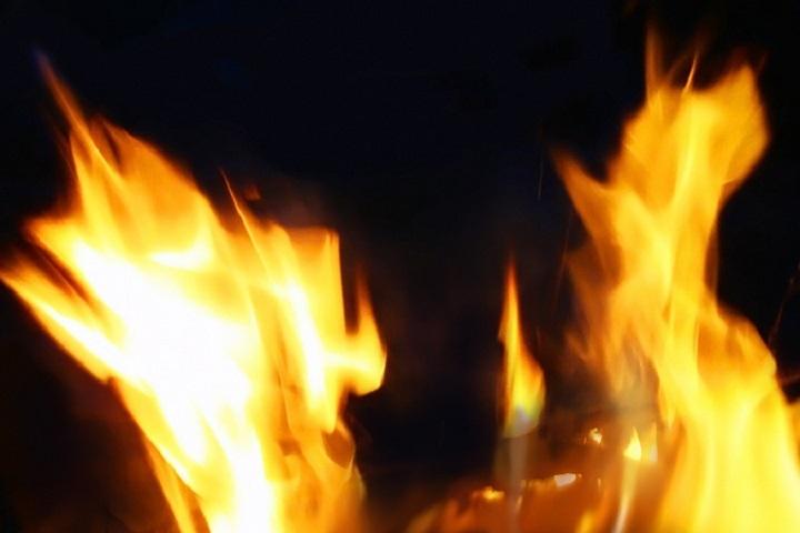 ВТатарстане впожаре  сгорел лежачий больной