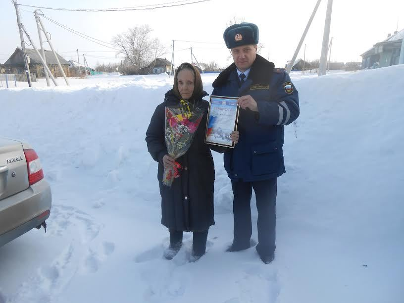 Пенсионерка изКазанского района помогла автоинспекторам задержать правонарушителя