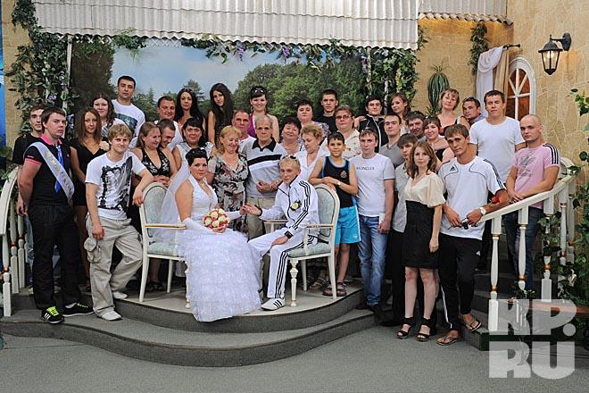 В стиле адидас свадьба
