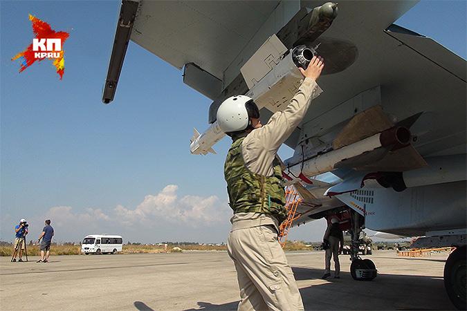 Появление российской военной авиации в Сирии и начало воздушной операции радикально сломало американские планы в этом стратегически важном регионе. Фото: Александр КОЦ, Дмитрий СТЕШИН