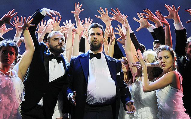На сцене Иван Ургант. Фото: Екатерина Цветкова