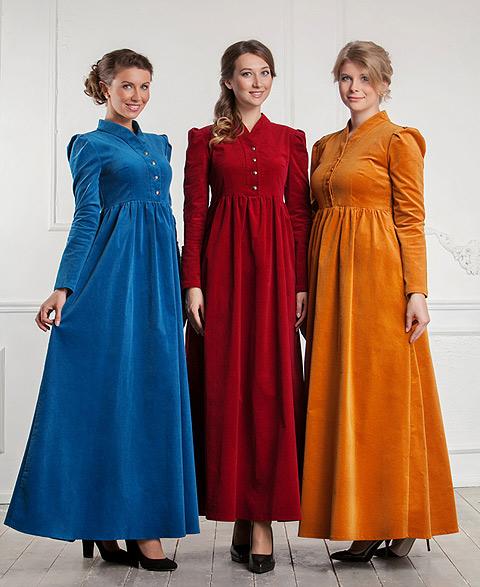 В православном магазине шьют не на худышек, а на обычных женщин, с бюстом и детьми. ФОТО: Предоставлено магазином