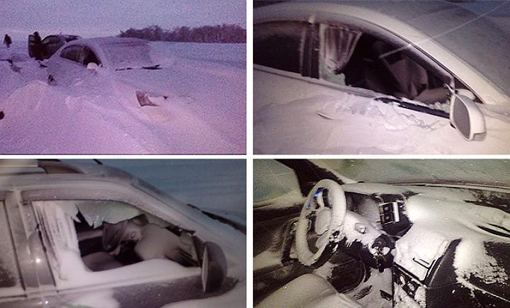 На трассе Орск-Оренбург из-за сильной метели и снежных заносов запертыми в своих авто оказались больше 80 человек.