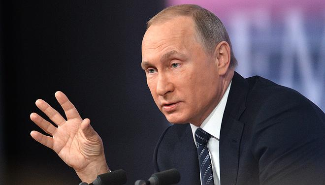 """""""Разве в уставе написано, что НАТО обязано принимать всех кто захочет? Нет. Нужны критерии, нужны условия. Была бы политическая воля, всё бы смогли сделать, если бы захотели."""" Фото: РИА Новости"""