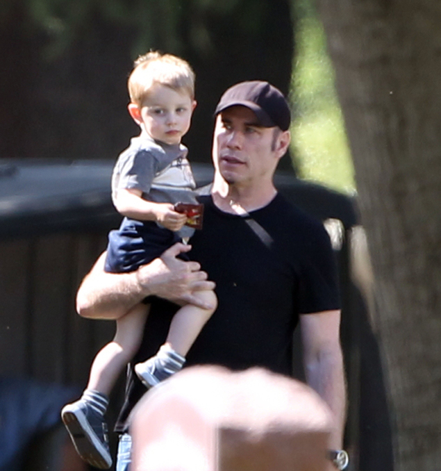 Младший сын пары Бенджамен родился в 2010 году. Фото: EAST NEWS.