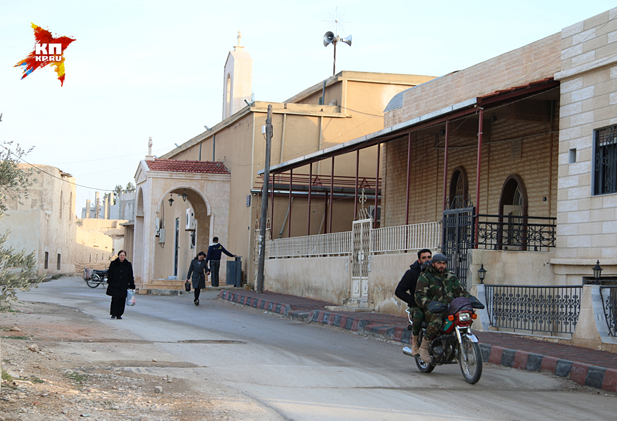 История ныне христианского городка Садад на востоке провинции Хомс насчитывает более 4000 тысяч лет Фото: Александр КОЦ, Дмитрий СТЕШИН
