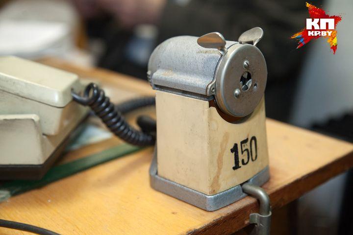 Старая советская точилка для карандашей. Фото: Павел МАРТИНЧИК