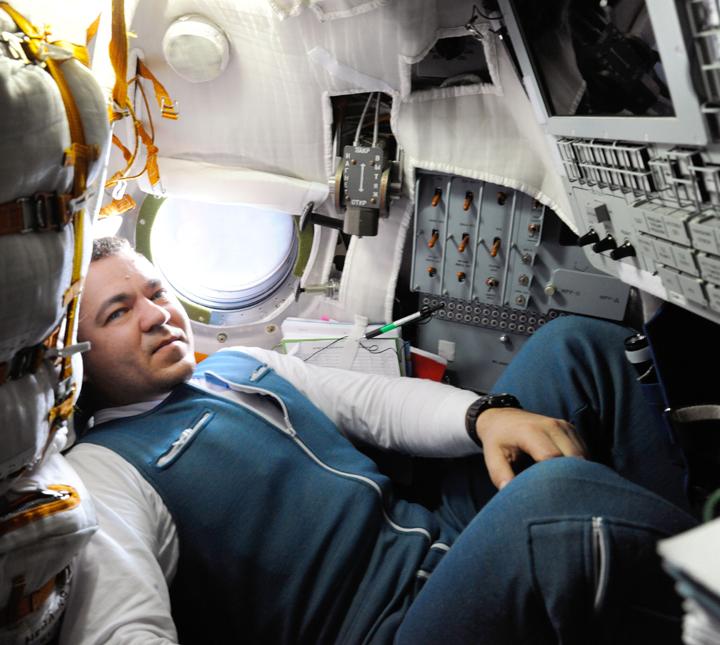 Космонавт Олег Скрипочка - тоже бывал на МКС.
