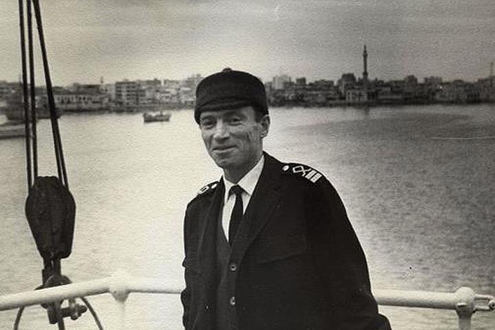 Виктор Конецкий в Латакии, конец 60-х. Фото: из архива семьи Конецких