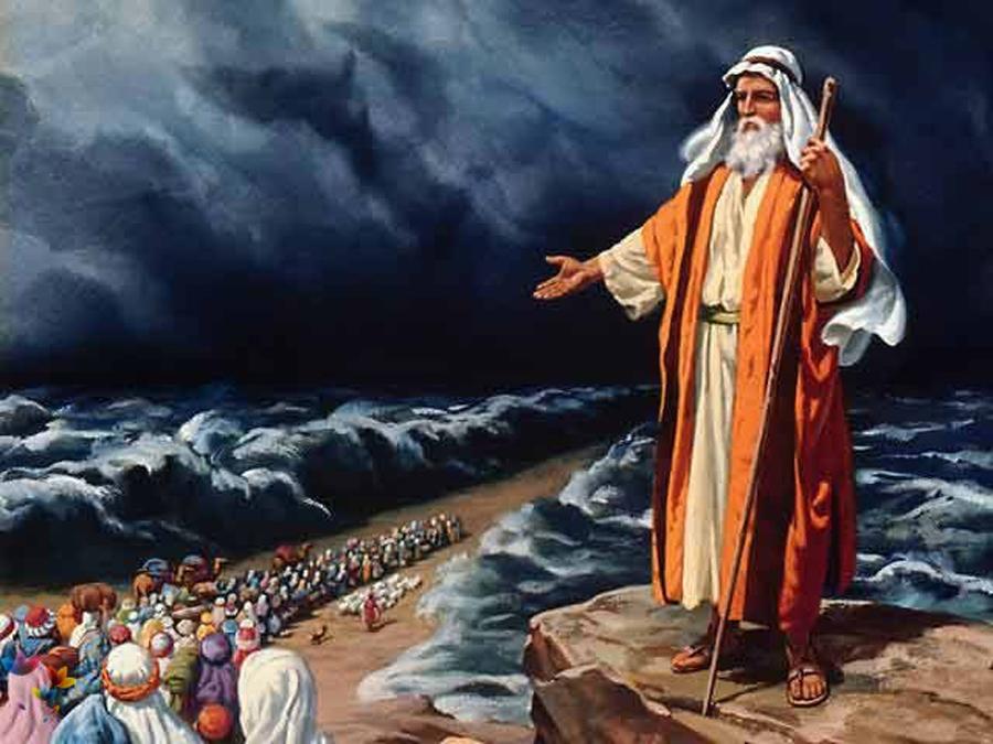 А вскоре пророк Моисей выведет всех евреев из египетского плена в Землю обетованную. Сам Моисей прожил аккурат 120 лет, обозначенных Господом