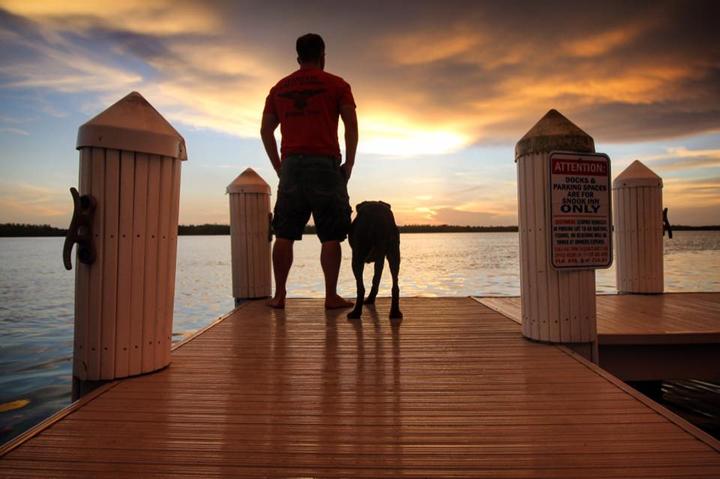 Сейчас Роберт и Белла во Флориде - и кто знает, сколько приключений еще впереди Фото: www.facebook.com/robert.kugler1/