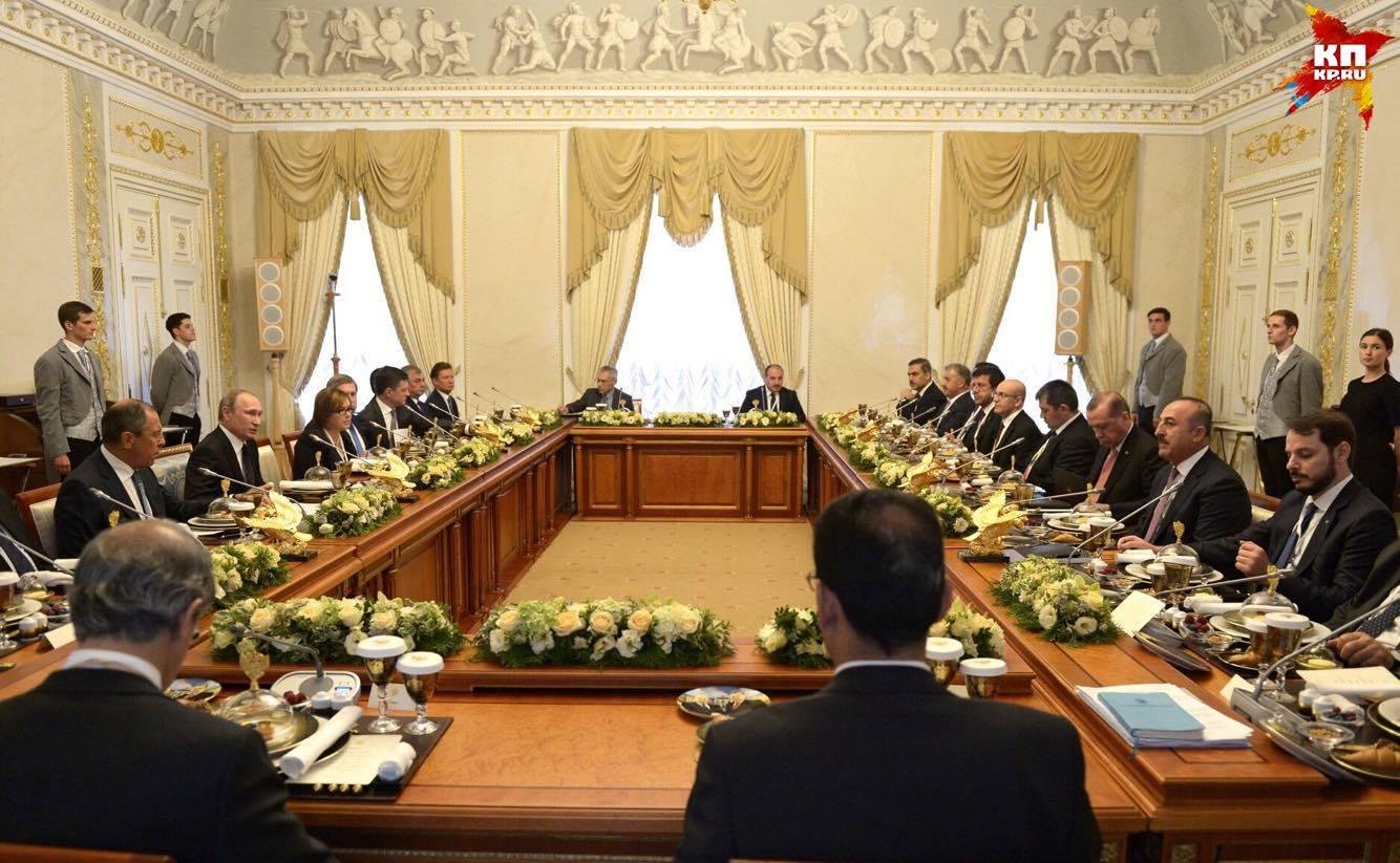 Путин: Турция приняла положительное решение по восстановлению «Турецкого потока»