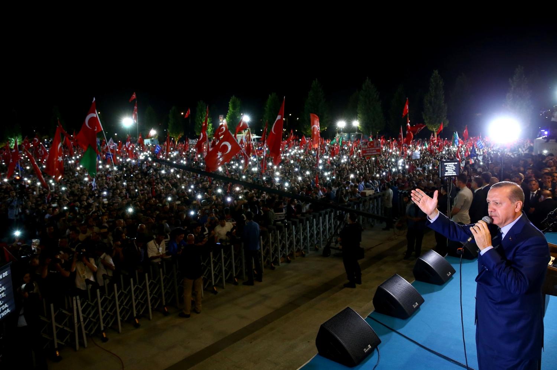 Переворот превратил Эрдогана в «жертву» и позволил ему полностью зачистить оппозицию Фото: REUTERS
