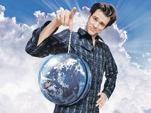 С помощью знаний Перельмана мы научимся управлять Вселенной (кадр из фильма «Брюс Всемогущий).
