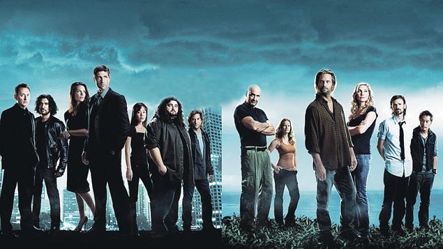 Постер к нашему сериалу явно перекликается с рекламным плакатом «Остаться в живых» (на фото вверху).
