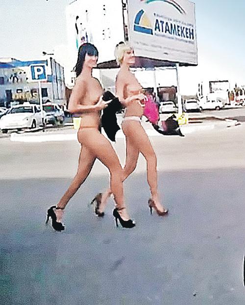 Голые девушки из костаная на фото
