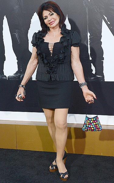 Жаклин Сталлоне - большой поклонник пластических операций! Фото: GLOBAL LOOK PRESS