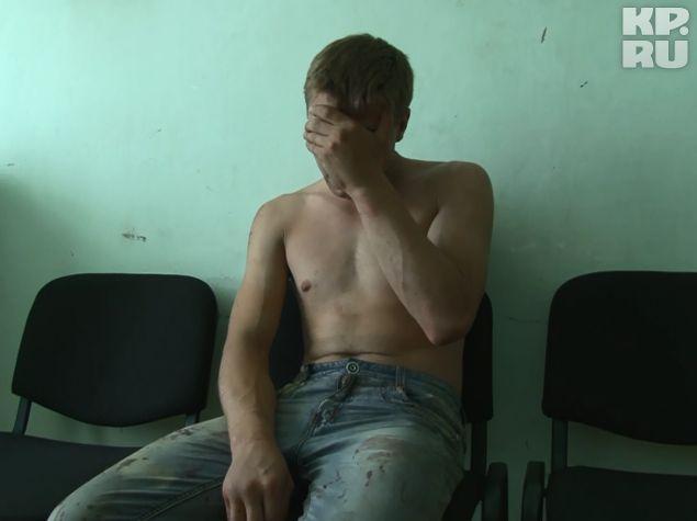 Один из задержанных за нападение на наряд полиции бандитов