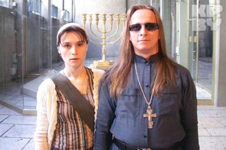 Отец Иоанн и матушка Оксана