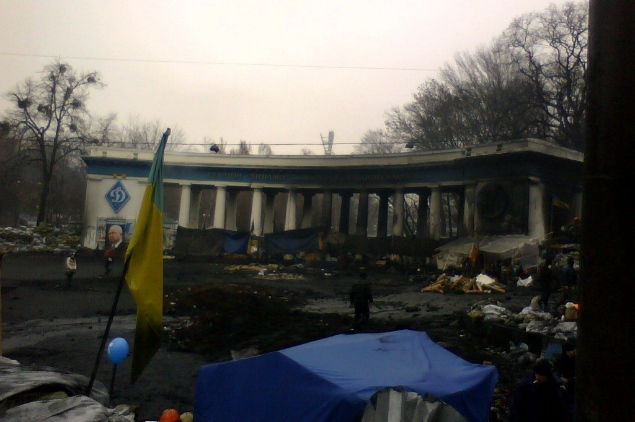 В Киеве развернулись настоящие боевые действия