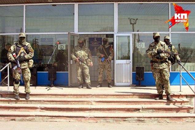 Утром в понедельник силы самообороны взяли под контроль город Константиновка