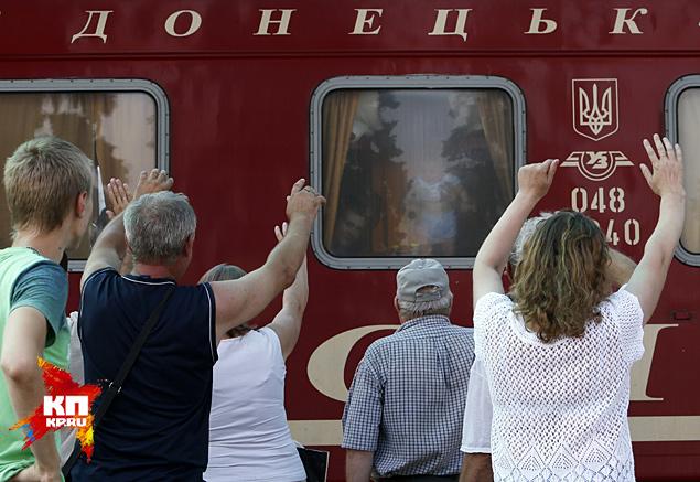 Донецк: из города уехали даже самые стойкие Фото: REUTERS