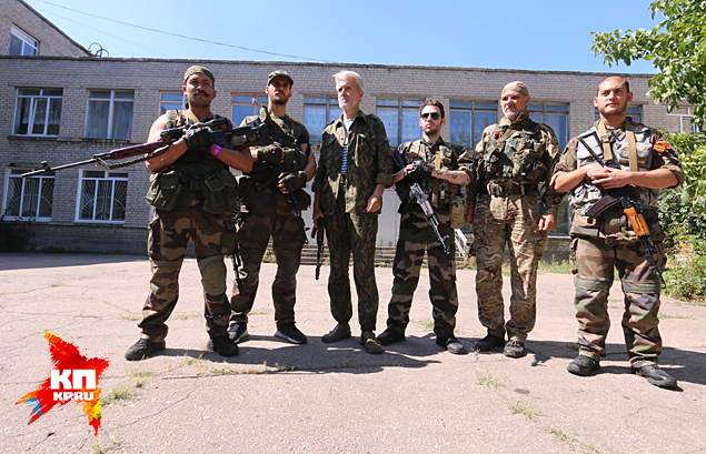 Французский шарм ополчения Донбасса Фото: Александр КОЦ, Дмитрий СТЕШИН