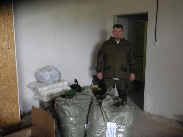 Дмитрий Бабич при формировании груза покупал товары исключительно по заявкам самих ополченцев. Фото: Александр ГРИШИН