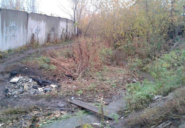 Место, где было найдено тело ребенка Фото: Константин КОРЕПАНОВ