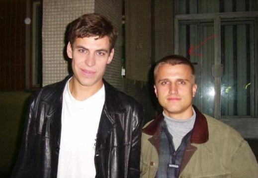 Дмитрий Дюжев с общим знакомым Владимира Гутарева
