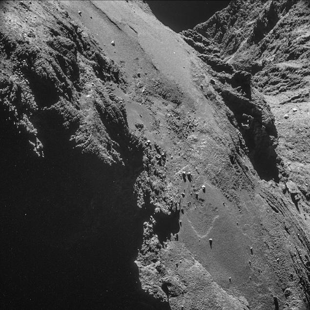 «Розетта» нашла на комете Чурюмова — Герасименко органические молекулы, и другие ключевые соединения для построения жизни Фото: REUTERS