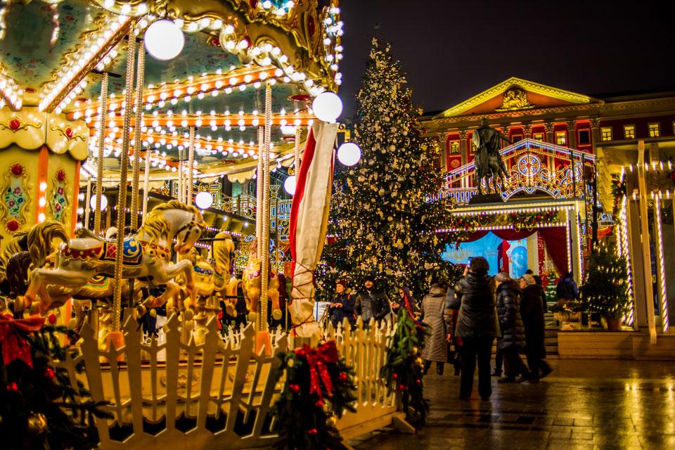 Новогодние каникулы в Москве: куда сходить с детьми