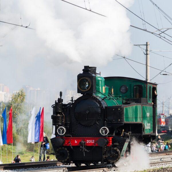 Выставка паровозов «День открытых дорог» в Подмосковье