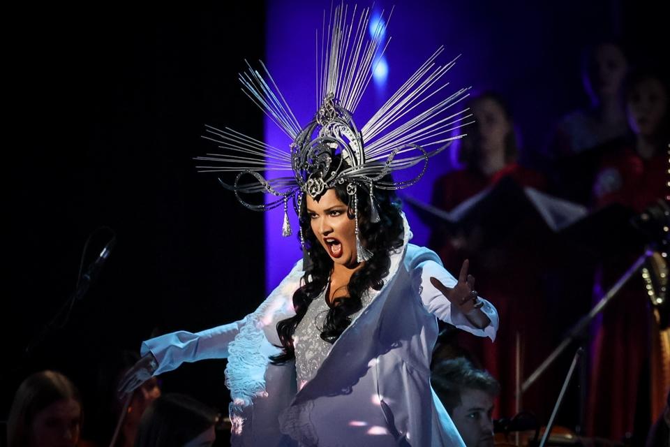 Как прошел концерт Анны Нетребко в Москве 18 сентября 2021