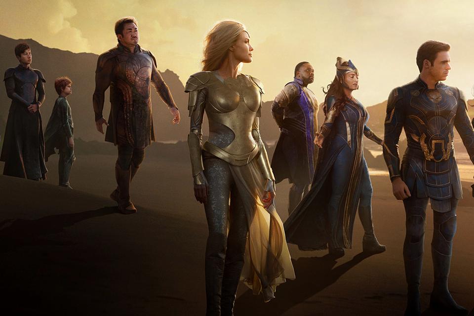 Фильм «Вечные»: что ждать от супергеройской драмы с Анджелиной Джоли и звездами «Игры престолов»