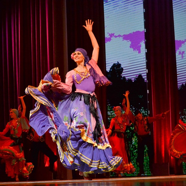 Концерт Ансамбля танца Сибири