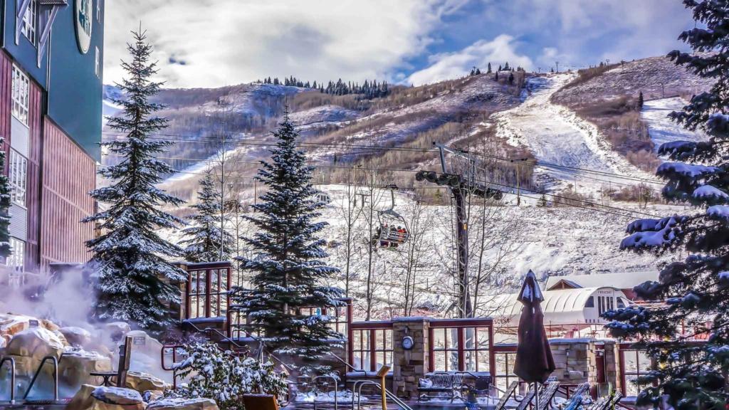 отель на горнолыжном курорте